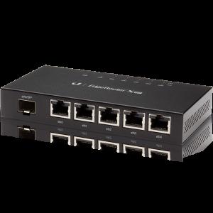 Компактный маршрутизатор EdgeRouter X SFP