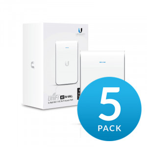 UniFi AP AC In-Wall 5-pack