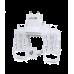 Ubiquiti AirFiber 4х4 - адаптер для мультиплексирования каналов, предназначен для работы с радиорелейными станциями AirFiber X.