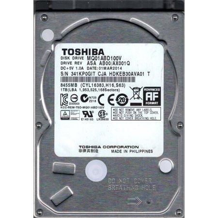TOSHIBA MQ01ABD100V 1TB 5400RPM