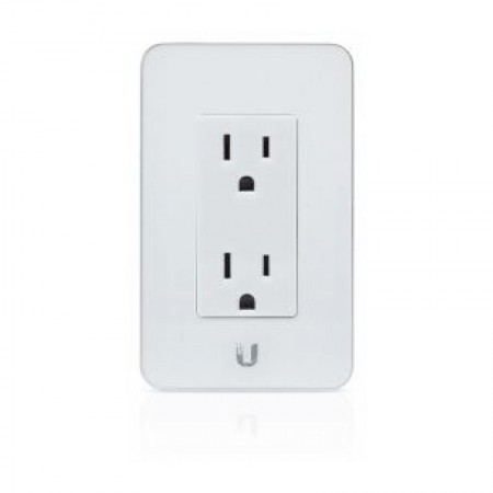mFi In-Wall Outlet White