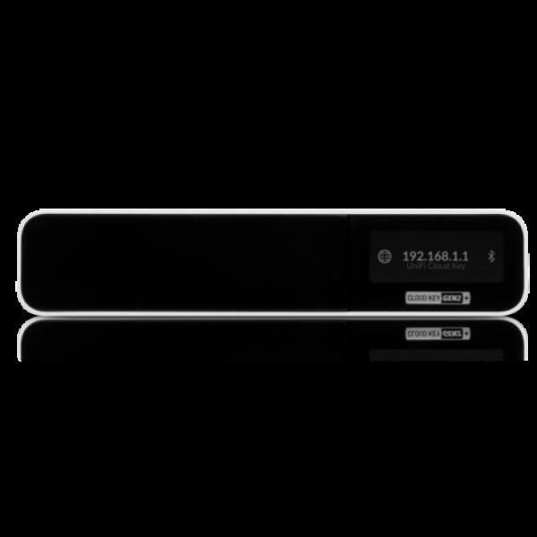UniFi CloudKey Gen2 Plus – это аппаратное решение, сочетающее в себе ПО UniFi VIdeo и UniFi Controller