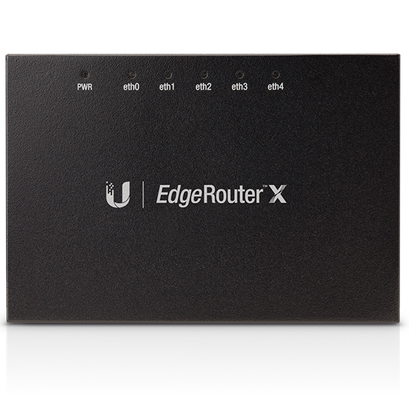 EdgeRouter X — маршрутизатор c PoE Passthrough